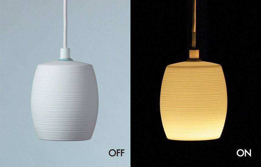 LED磁器ペンダントライト