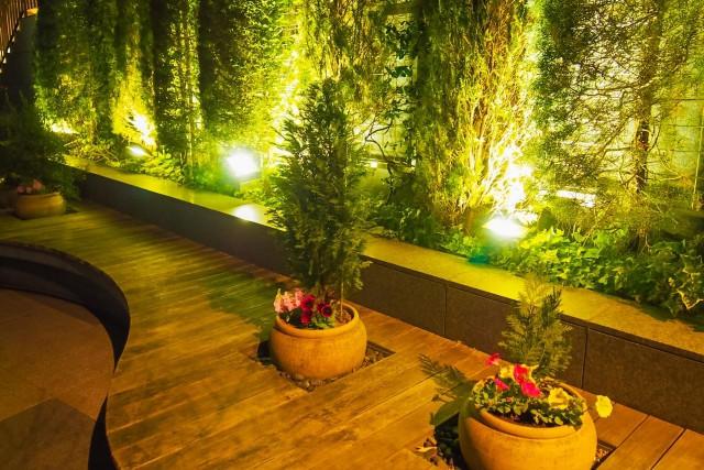 庭やベランダは自由な照明で楽しむ!