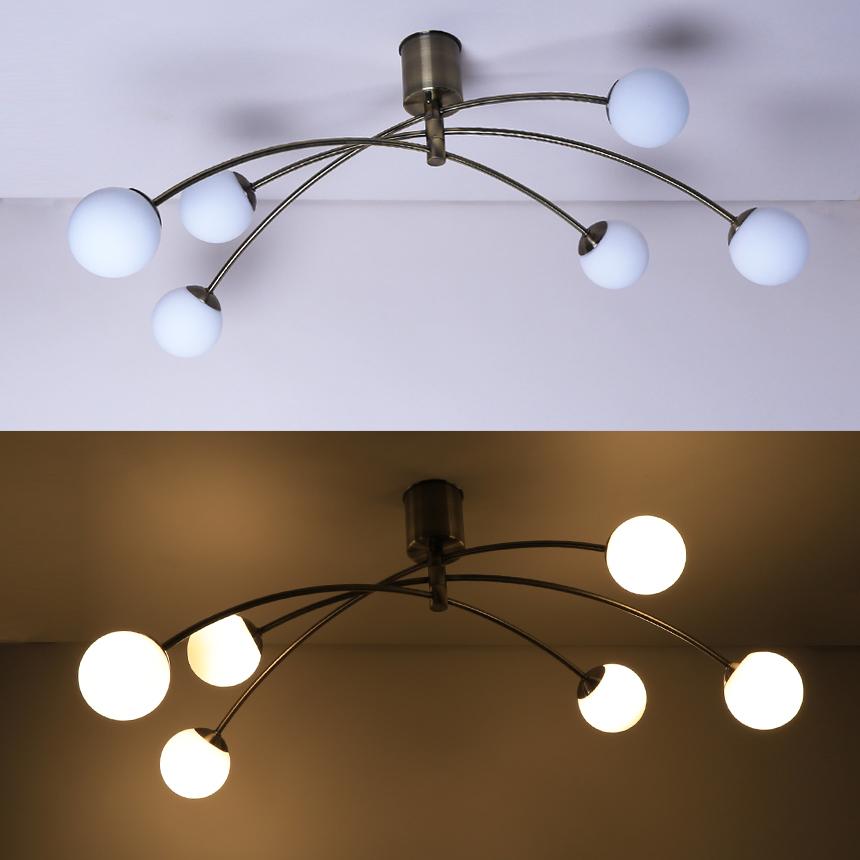 6灯LEDシャンデリアGCH003-6
