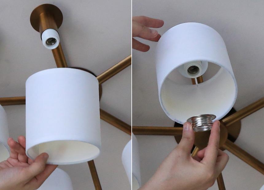 8灯LEDシャンデリア GCH001-8SD