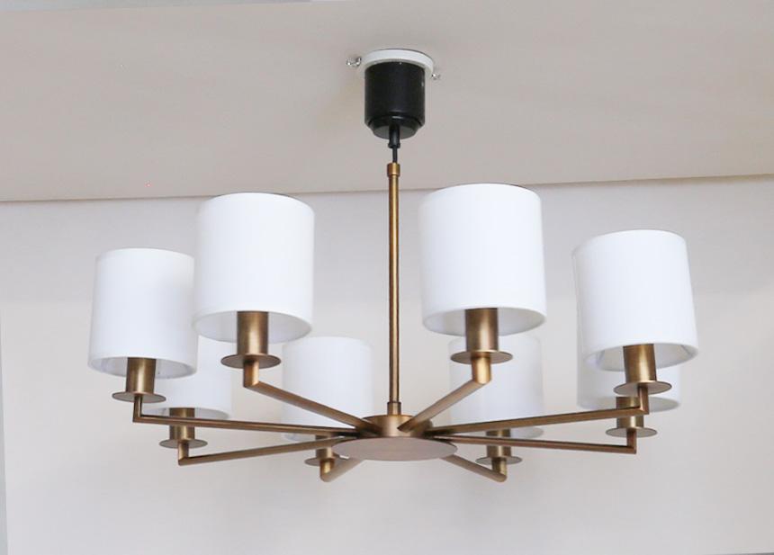 8灯LEDシャンデリアGCH001-8SD
