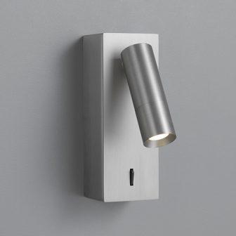 〈MotoM〉直付形LEDリーディングライト(読書灯) ニッケルメッキ MBK007L