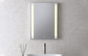 LED一体型ミラー450×600